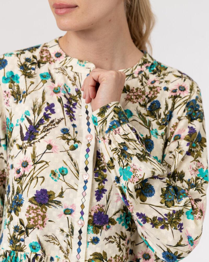Sukienka Lollys Laundry 21175_3056_FLOWER PRINT kremowy - fot:3