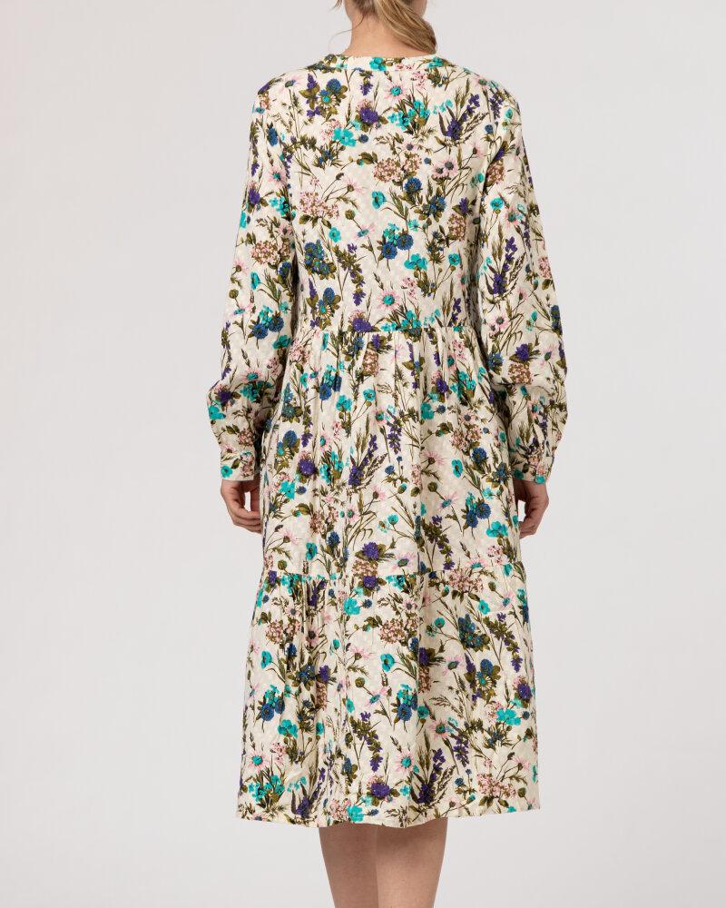Sukienka Lollys Laundry 21175_3056_FLOWER PRINT kremowy - fot:4