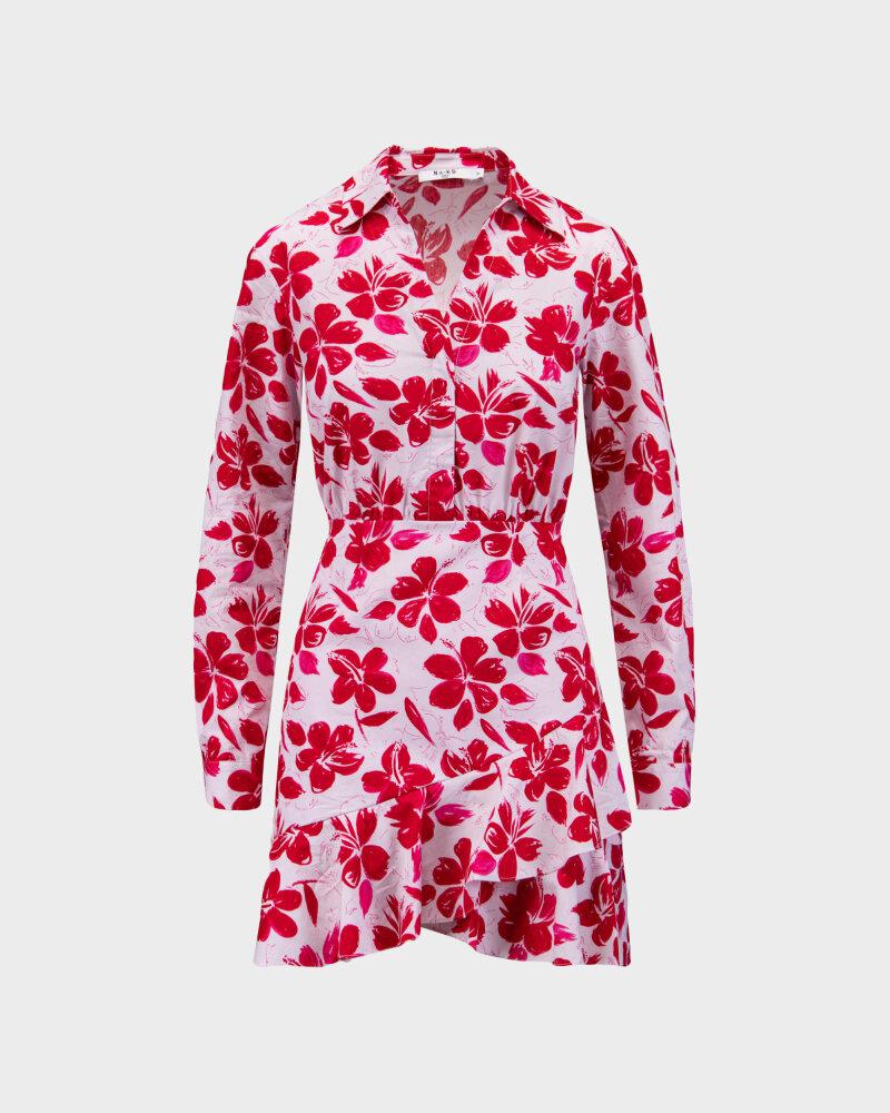 Sukienka Na-Kd 1018-006854_RED FLOWER czerwony - fot:1