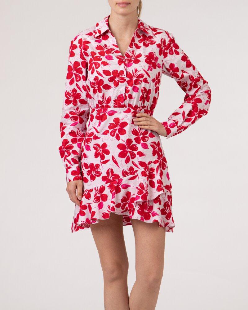 Sukienka Na-Kd 1018-006854_RED FLOWER różowy - fot:2