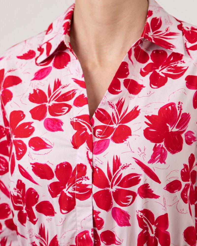 Sukienka Na-Kd 1018-006854_RED FLOWER różowy - fot:3