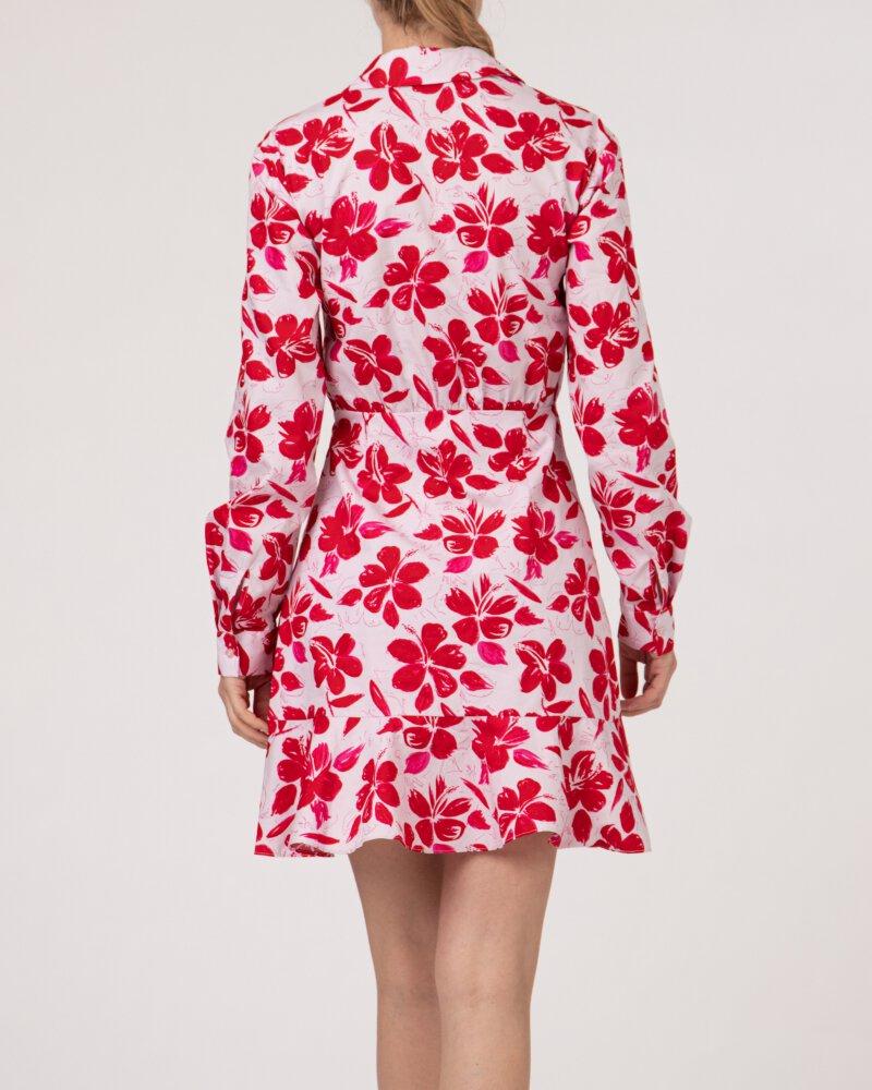 Sukienka Na-Kd 1018-006854_RED FLOWER różowy - fot:5