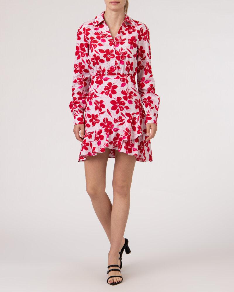 Sukienka Na-Kd 1018-006854_RED FLOWER różowy - fot:6