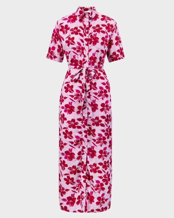 Sukienka Na-Kd 1018-006907_RED FLOWER fioletowy