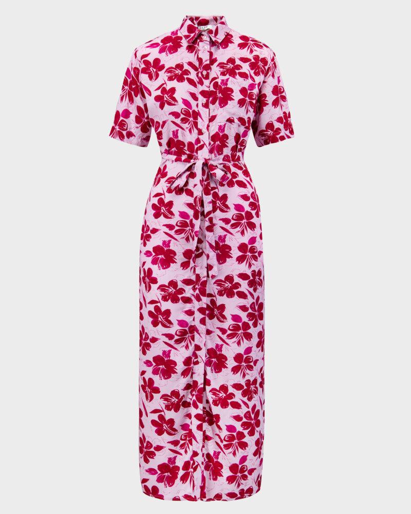 Sukienka Na-Kd 1018-006907_RED FLOWER fioletowy - fot:1