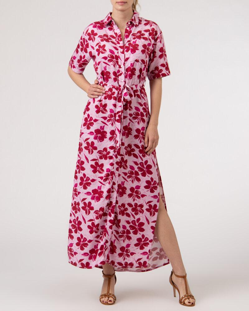Sukienka Na-Kd 1018-006907_RED FLOWER fioletowy - fot:5