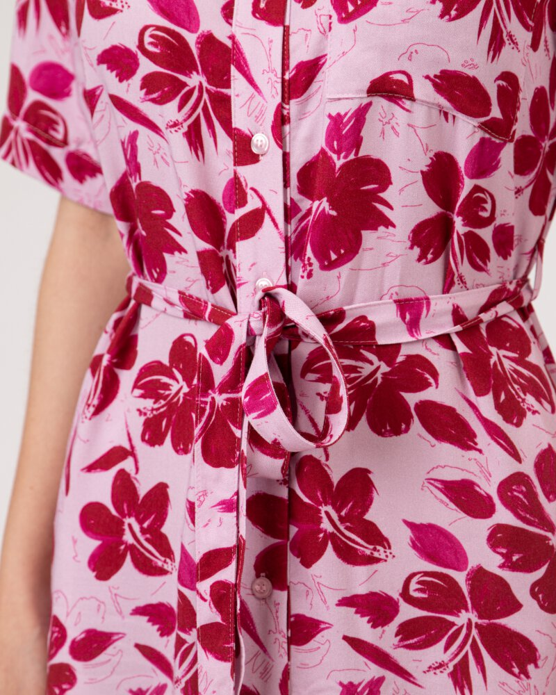 Sukienka Na-Kd 1018-006907_RED FLOWER fioletowy - fot:3