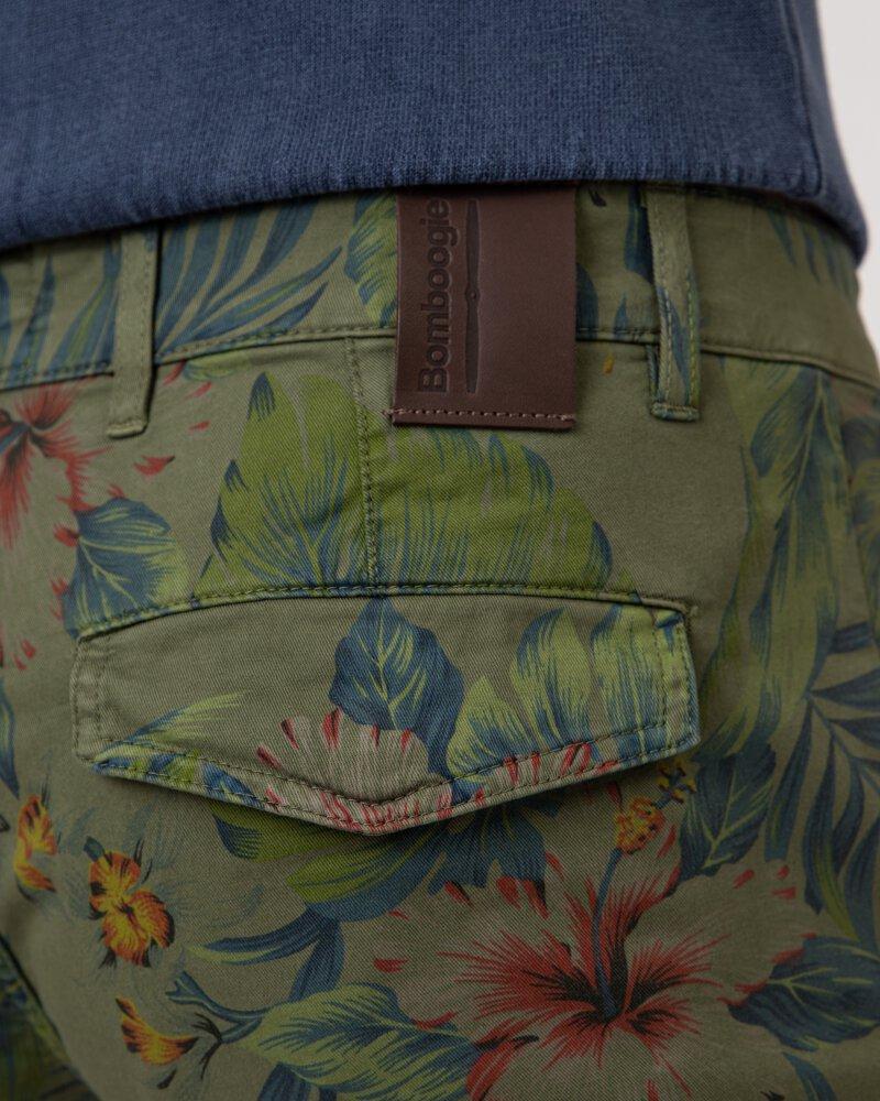 Spodnie Bomboogie BMWHY_TXP_326 ciemnozielony - fot:5