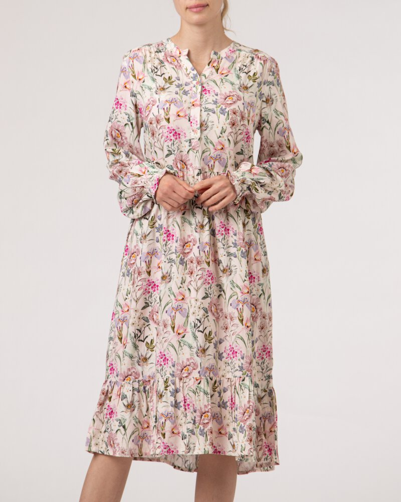 Sukienka Lollys Laundry 21144_3017_FLOWER PRINT różowy - fot:2