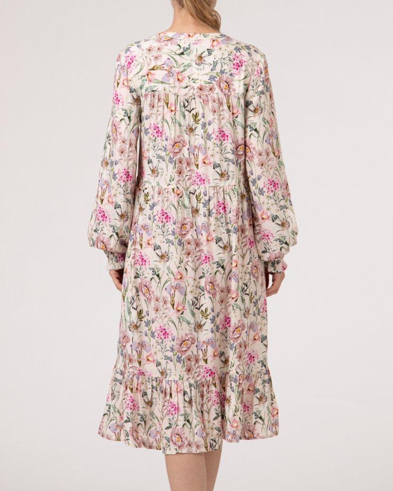 Sukienka Lollys Laundry 21144_3017_FLOWER PRINT różowy - fot:5