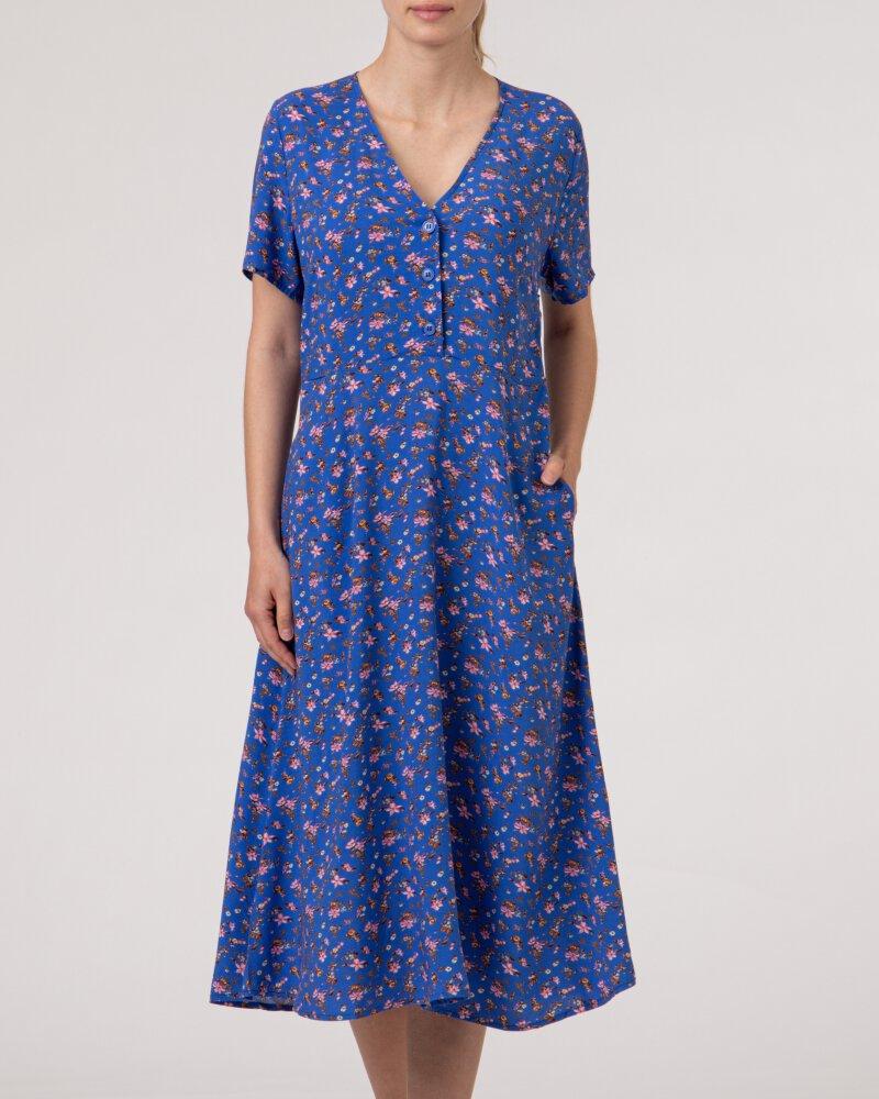 Sukienka Lollys Laundry 21166_3032_FLOWER PRINT niebieski - fot:2