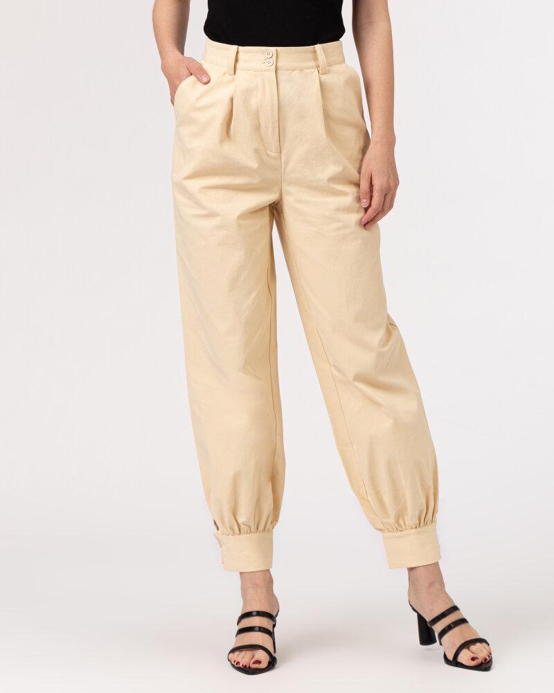 Spodnie Na-Kd 1018-006858_BEIGE beżowy - fot:2