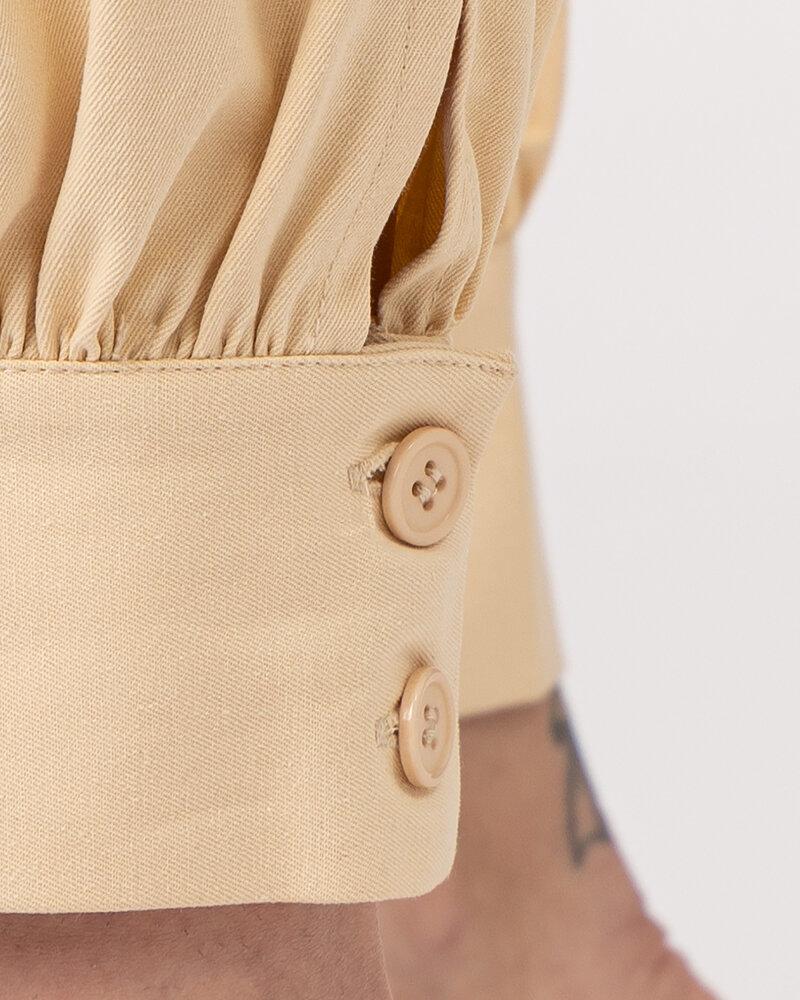 Spodnie Na-Kd 1018-006858_BEIGE beżowy - fot:4