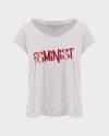 T-Shirt Bomboogie TW6963_JSEY_58 jasnoszary