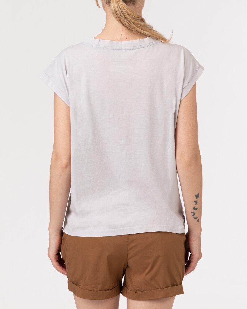 T-Shirt Bomboogie TW6963_JSEY_58 jasnoszary - fot:4