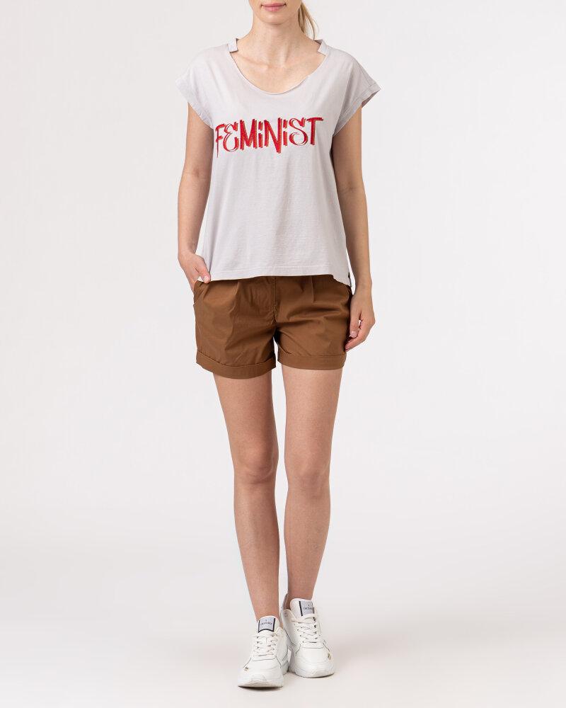 T-Shirt Bomboogie TW6963_JSEY_58 jasnoszary - fot:5