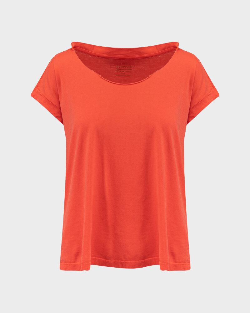 T-Shirt Bomboogie TW6961_JSEY_40 czerwony - fot:1