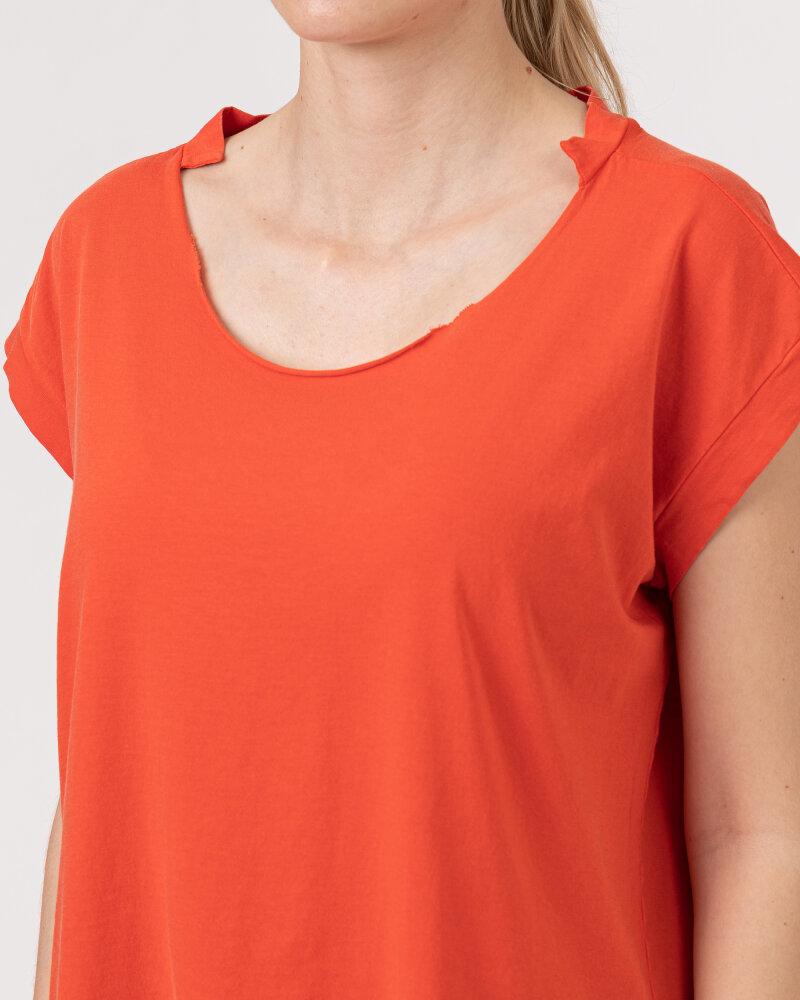 T-Shirt Bomboogie TW6961_JSEY_40 czerwony - fot:3