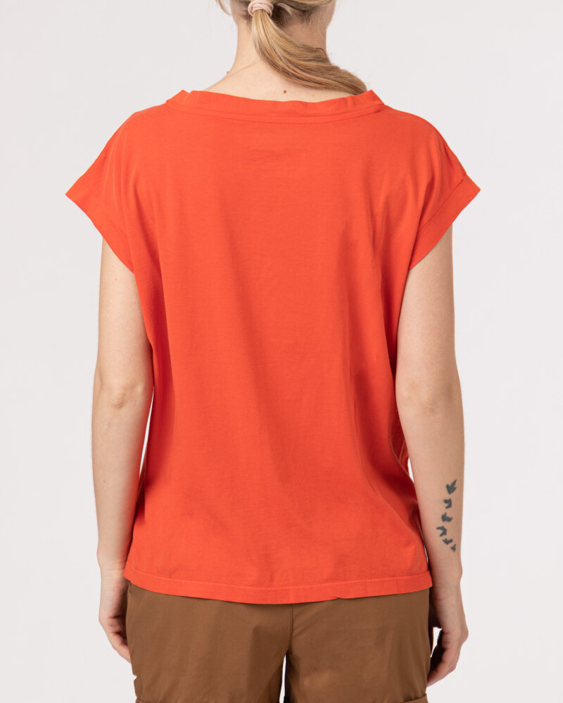 T-Shirt Bomboogie TW6961_JSEY_40 czerwony - fot:4