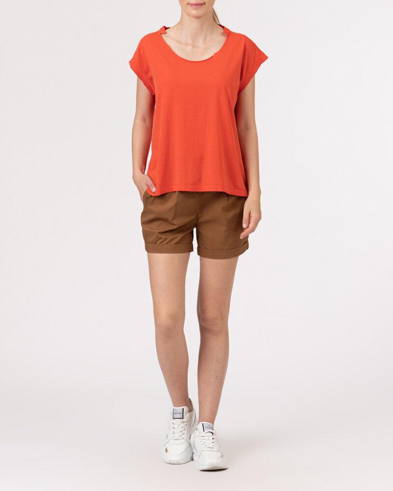 T-Shirt Bomboogie TW6961_JSEY_40 czerwony - fot:5