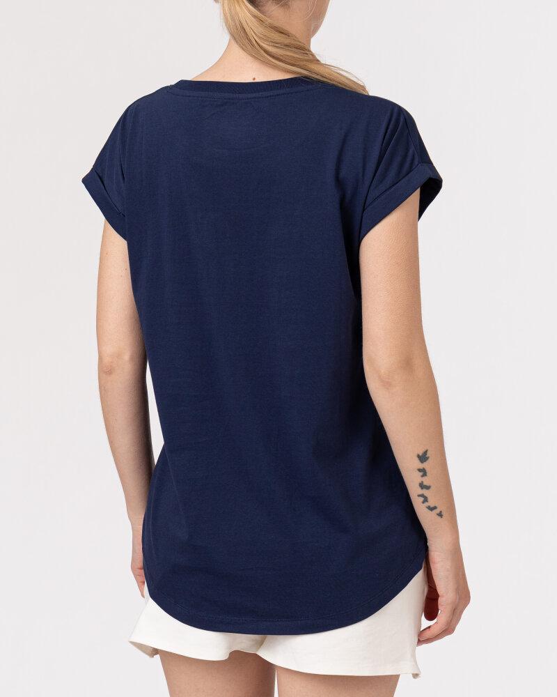 T-Shirt Bomboogie TW6950_JIN_20 granatowy - fot:4