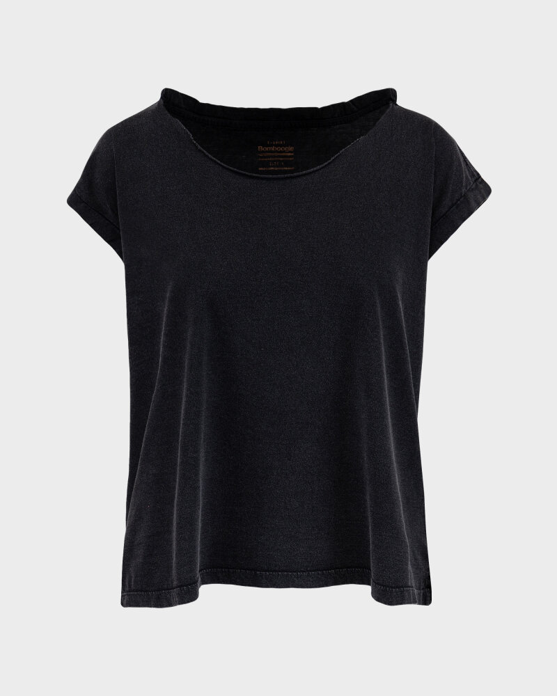 T-Shirt Bomboogie TW6961_JSEY_90 czarny - fot:1