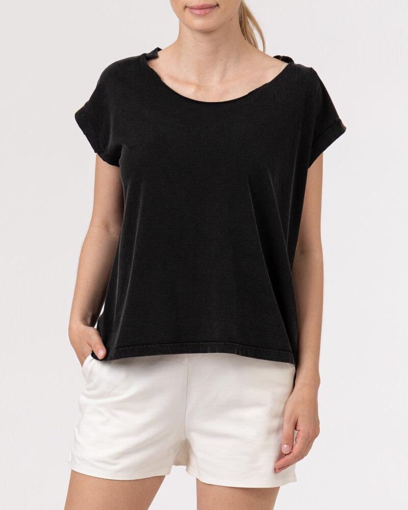 T-Shirt Bomboogie TW6961_JSEY_90 czarny - fot:2