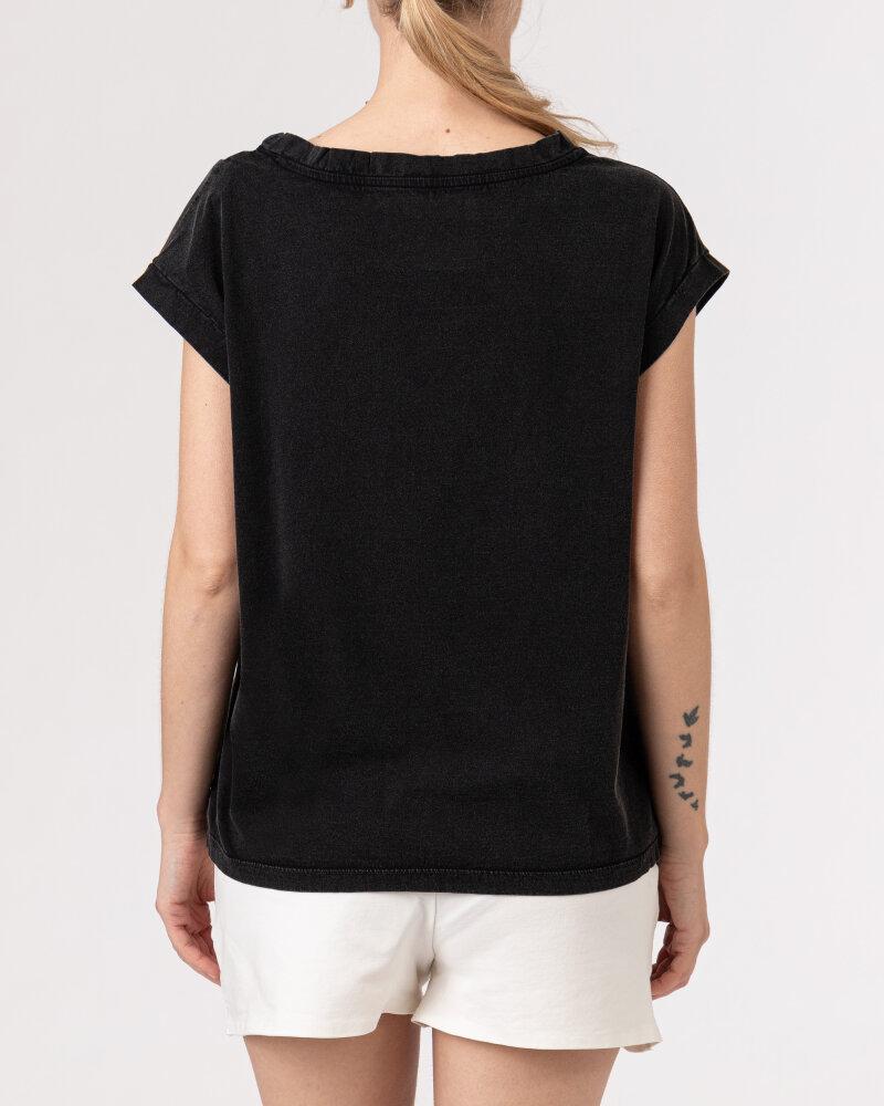 T-Shirt Bomboogie TW6961_JSEY_90 czarny - fot:4