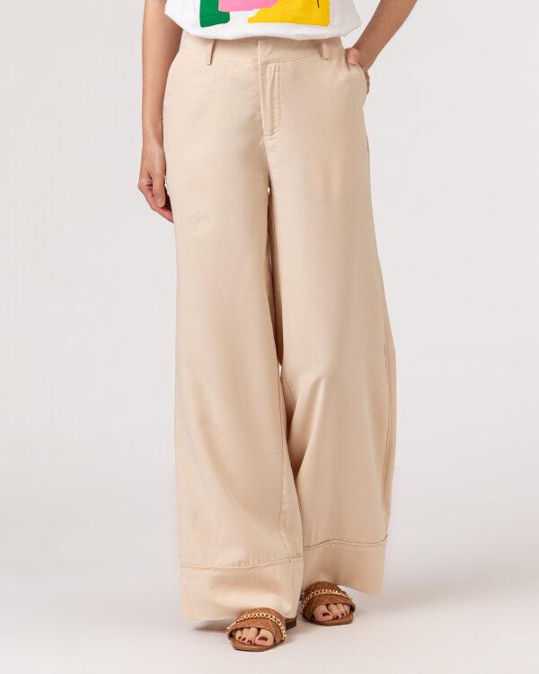 Spodnie Lollys Laundry 21150_5025_CREME kremowy