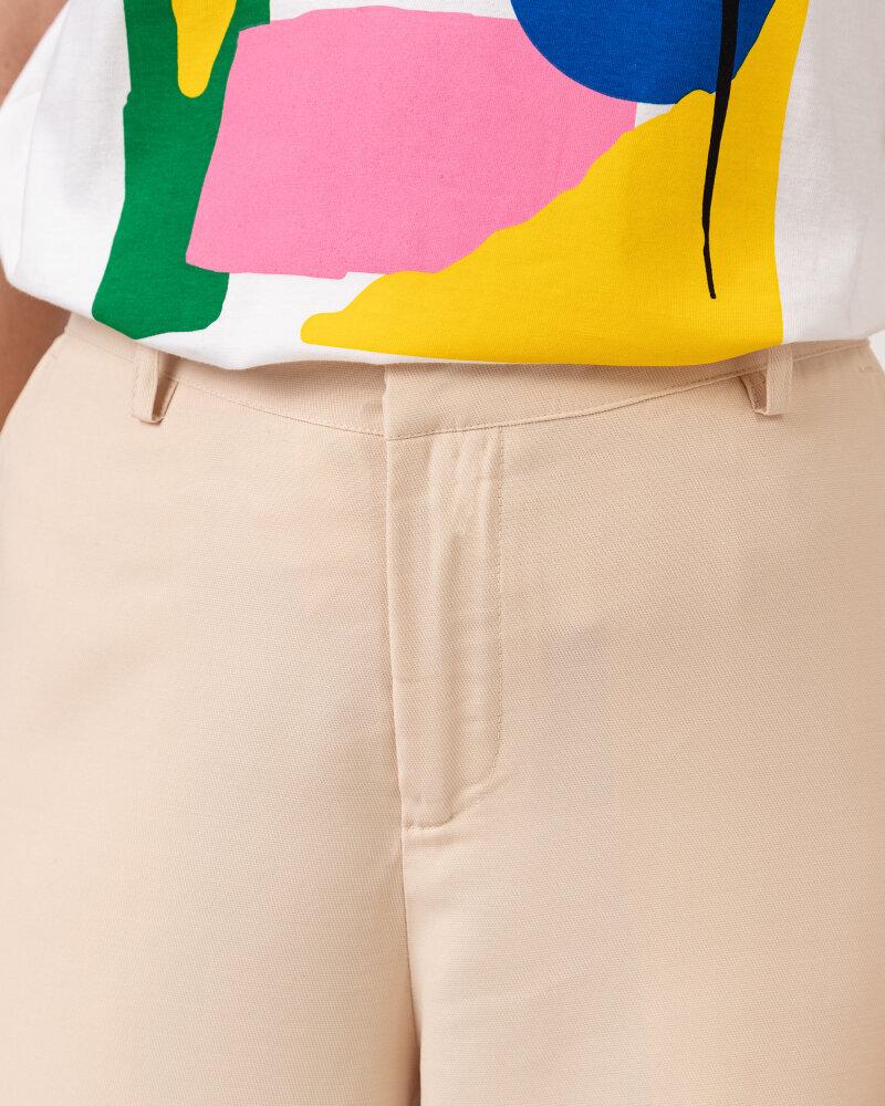 Spodnie Lollys Laundry 21150_5025_CREME kremowy - fot:3