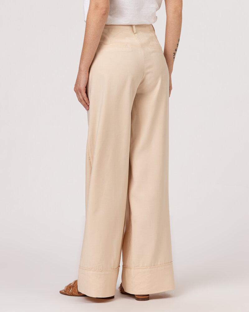 Spodnie Lollys Laundry 21150_5025_CREME kremowy - fot:4