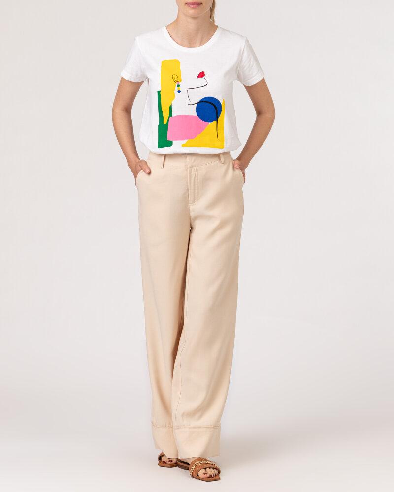 Spodnie Lollys Laundry 21150_5025_CREME kremowy - fot:5