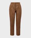 Spodnie Bomboogie PW6953_CSAT_18 brązowy