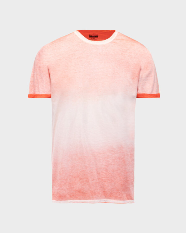 T-Shirt Bomboogie TM6983_JGRA_40 pomarańczowy