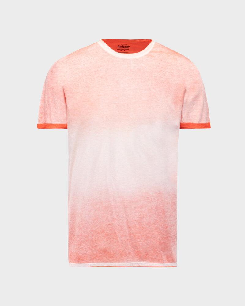 T-Shirt Bomboogie TM6983_JGRA_40 pomarańczowy - fot:1