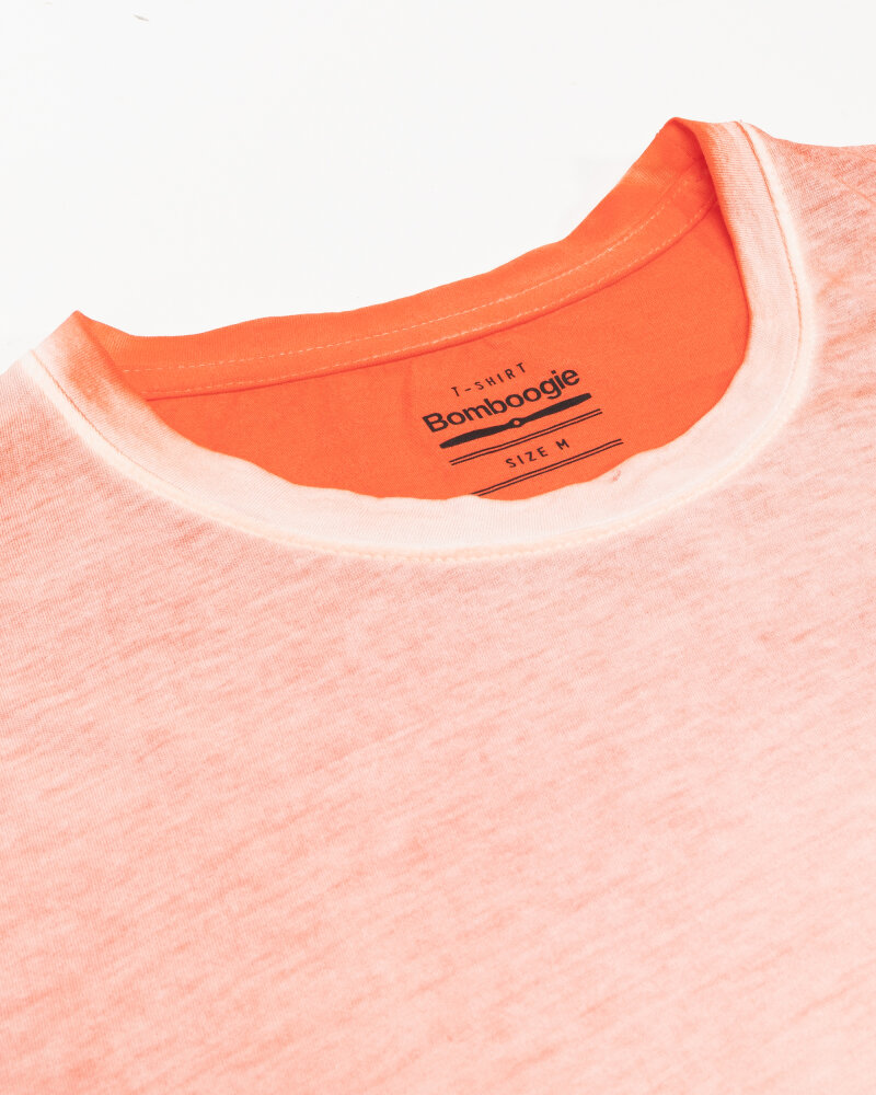 T-Shirt Bomboogie TM6983_JGRA_40 pomarańczowy - fot:2