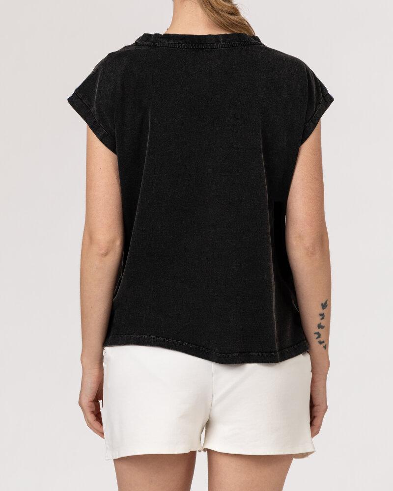 T-Shirt Bomboogie TW6963_JSEY_90 ciemnoszary - fot:4
