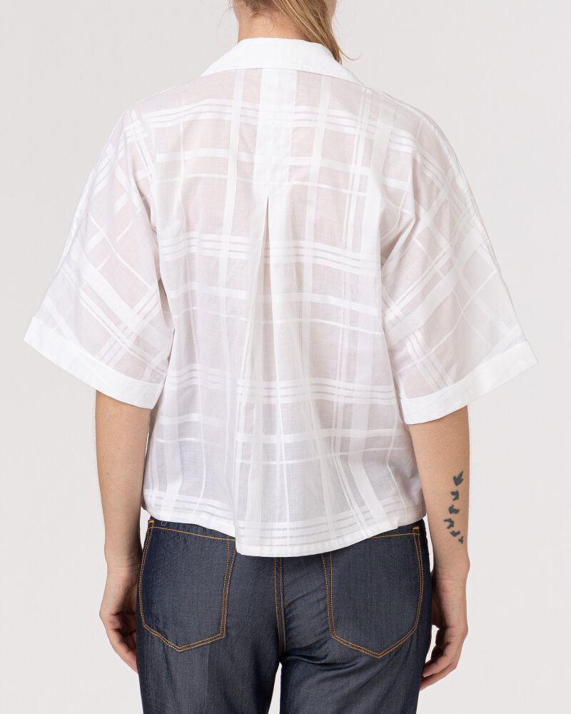 Koszula Stenstroms ALICE 261119_6857_003 biały - fot:4