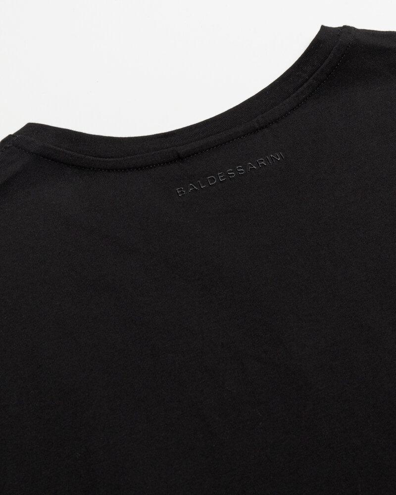 T-Shirt Baldessarini 5015_20007_9000 czarny - fot:3