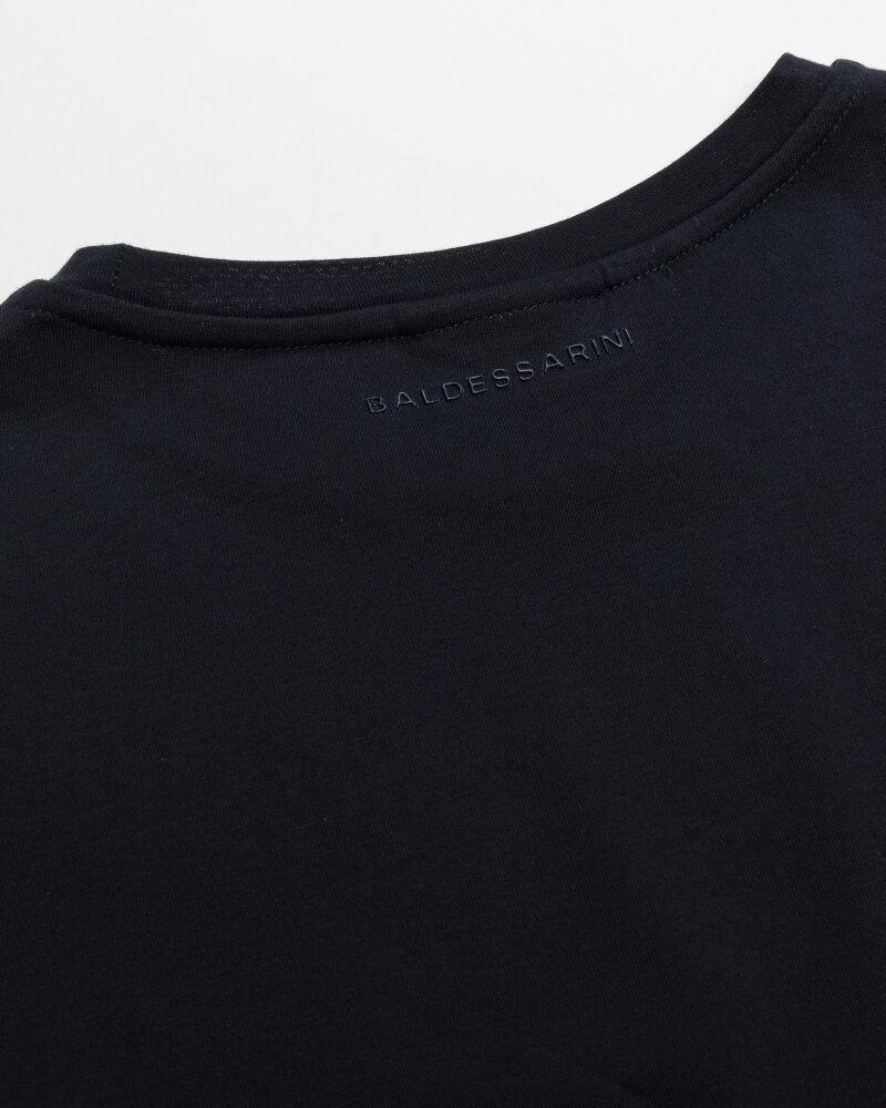 T-Shirt Baldessarini 5015_20006_6300 granatowy - fot:3