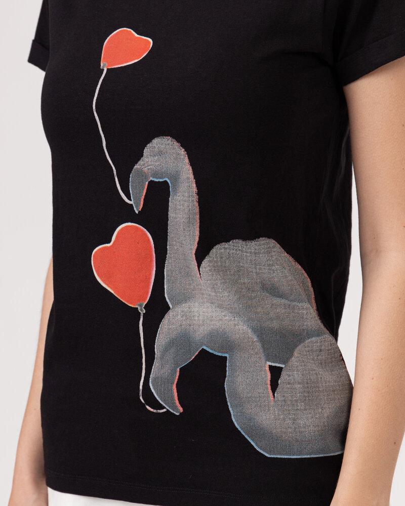 T-Shirt Bomboogie TW6990_JSNS_90 czarny - fot:3