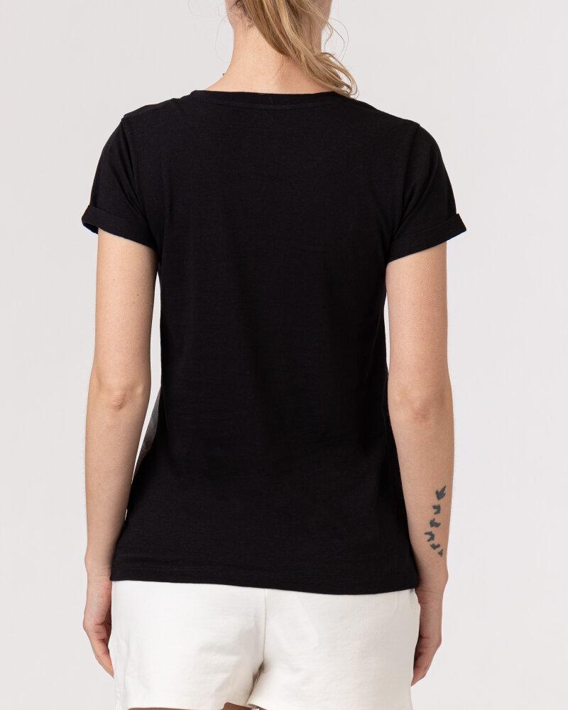 T-Shirt Bomboogie TW6990_JSNS_90 czarny - fot:4