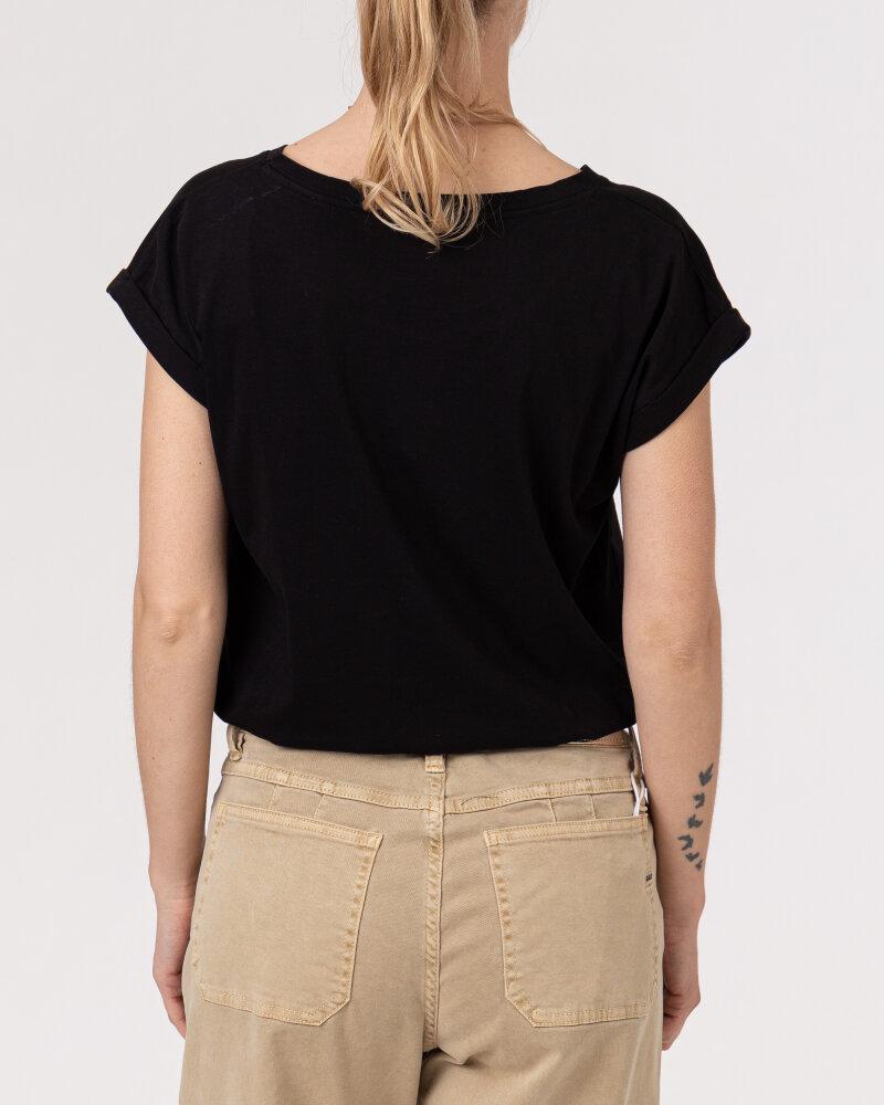 T-Shirt Bomboogie TW6992_JSEL_90 czarny - fot:4