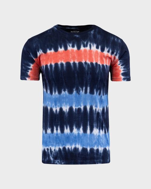 T-Shirt Bomboogie TM6987_JORO_2040 granatowy