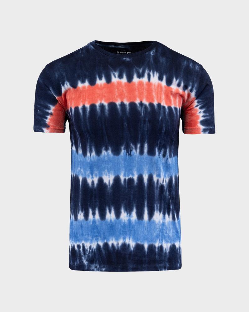 T-Shirt Bomboogie TM6987_JORO_2040 granatowy - fot:1