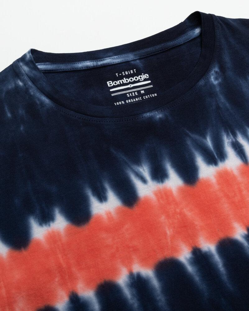 T-Shirt Bomboogie TM6987_JORO_2040 granatowy - fot:2