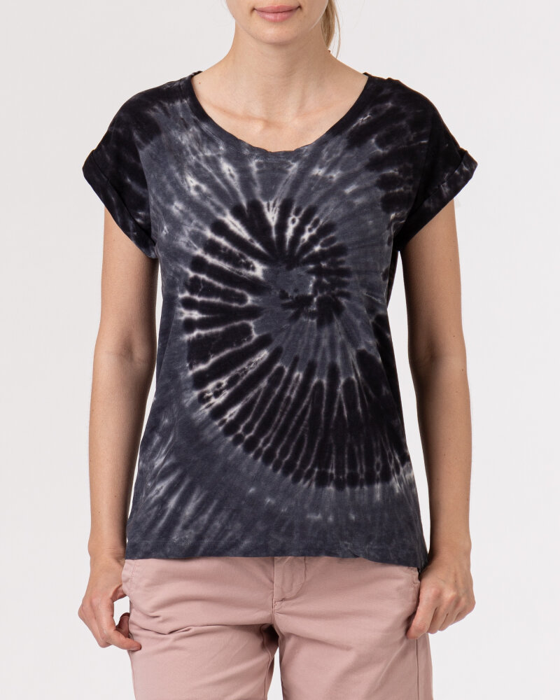 T-Shirt Bomboogie TW6996_JSNR_90 czarny - fot:2