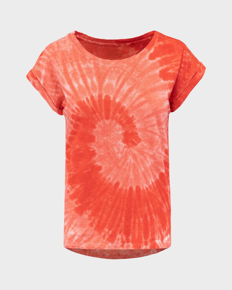 T-Shirt Bomboogie TW6996_JSNR_40 czerwony - fot:1