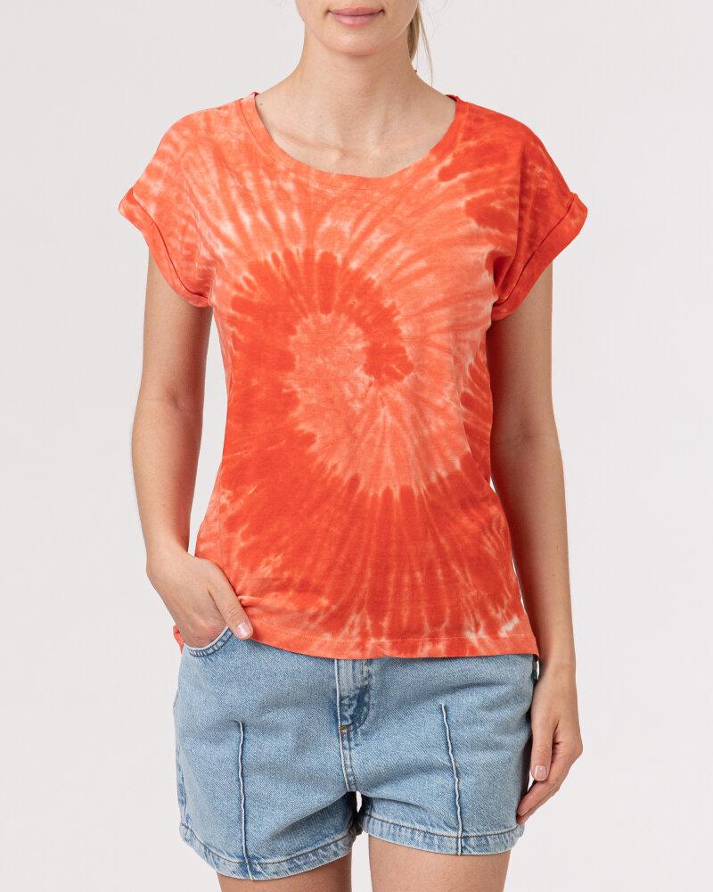 T-Shirt Bomboogie TW6996_JSNR_40 czerwony - fot:2
