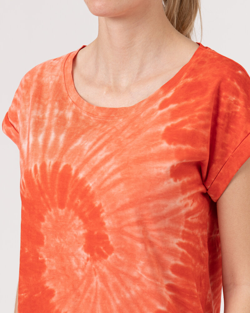 T-Shirt Bomboogie TW6996_JSNR_40 czerwony - fot:3